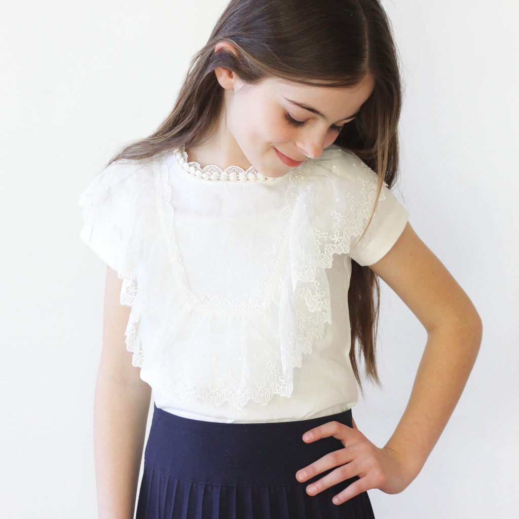 Vintage Lace  Blouse - As seen on the TODAY Show!