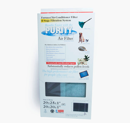 Purity Air Filter™   Space Saver   (Pack of 2)   FREE SHIPPING