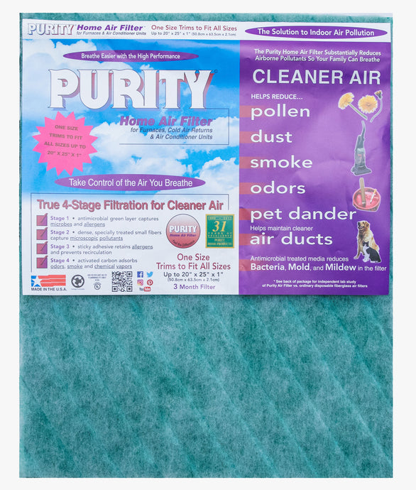 Purity Air Filter™ Trim To Fit                FREE SHIPPING