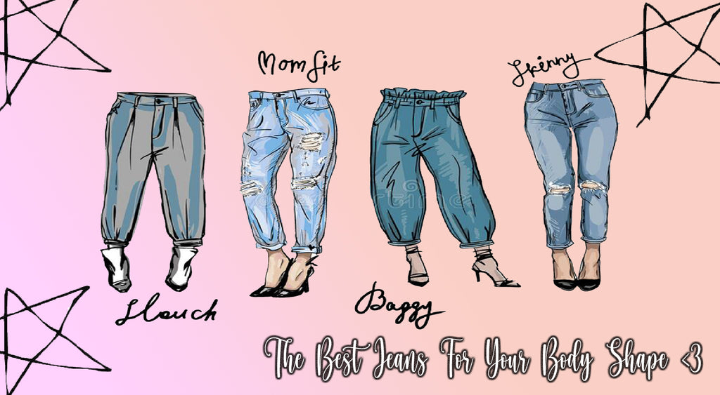 Best Jeans For Your Body Shape