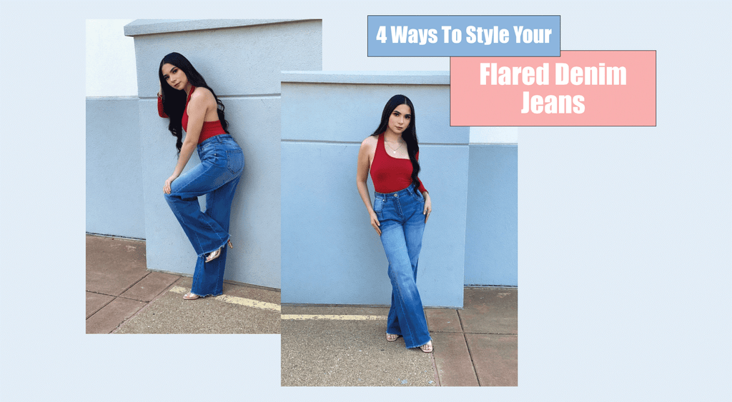 4 Ways To Style Your Flared Denim Jeans