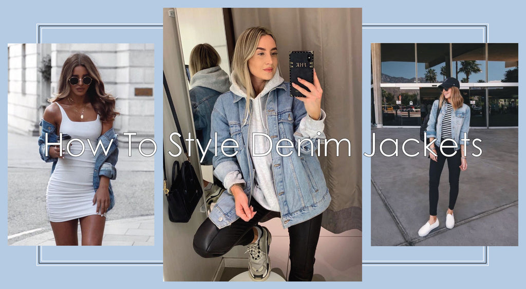 How To Style Denim Jackets | Styling Shop BBJ Denim Jackets