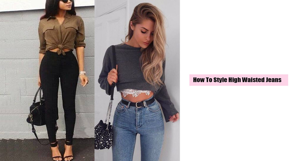 How To Style High Rise Denim Jeans