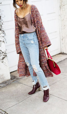 10 Ways To Wear Jeans This Fall - Song of Style
