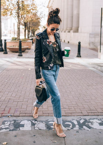 10 Ways To Wear Jeans This Fall - Hello Fashion Blog