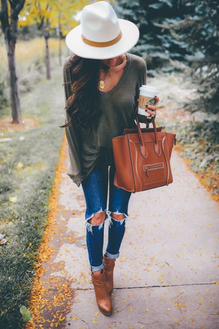 10 Ways To Wear Jeans This Fall - Sweetest Thing Blog