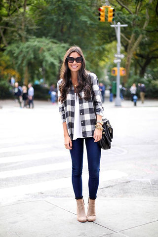 10 Ways To Wear Jeans This Fall - With Love From Kat