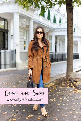 how to style suede
