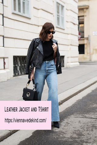 how to style flared denim jeans