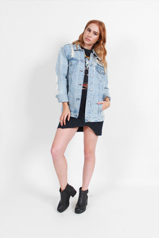 Boom Boom Jeans Oversized Denim Jacket