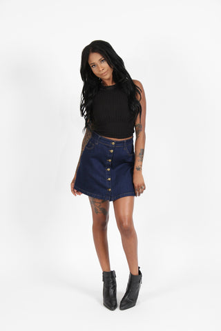 Boom Boom Jeans Denim Skirt