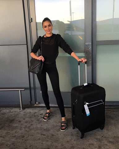 Olivia Palermo - Airport Style