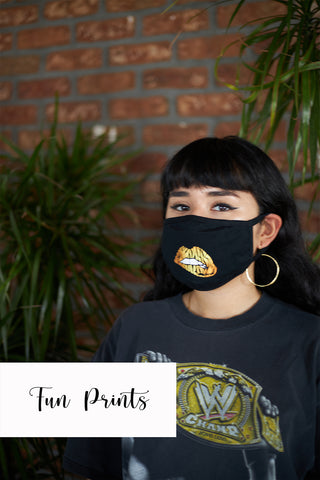 fashion fabric face masks