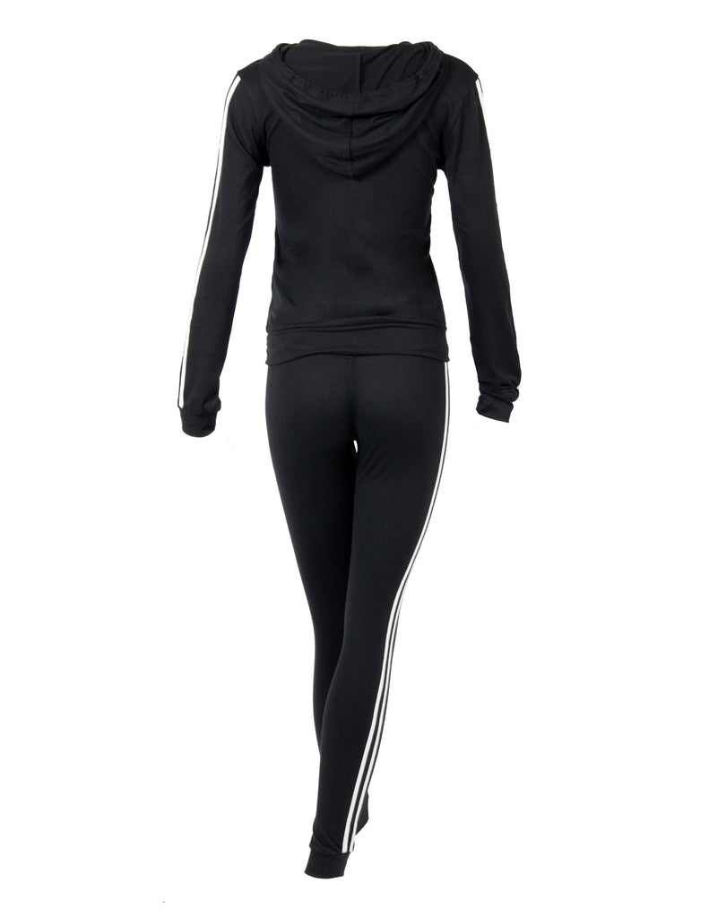 Zip it Up Tracksuit Hoodie and Leggings Set