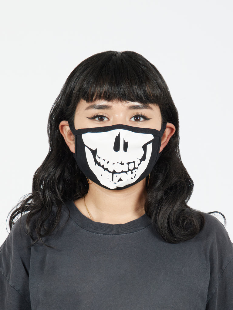 Skull Mouth Fabric Face Mask