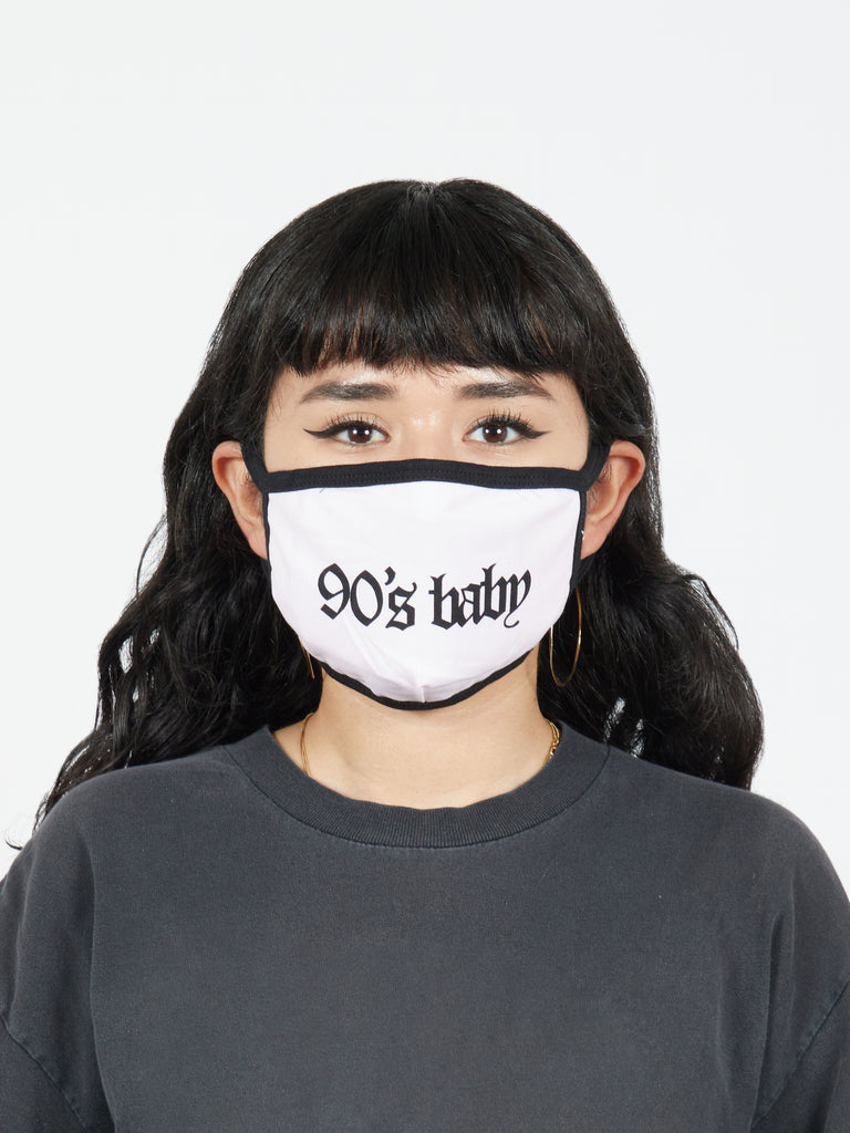 90's Baby Fabric Face Mask
