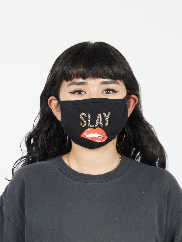 Slay Printed Fabric Face Mask
