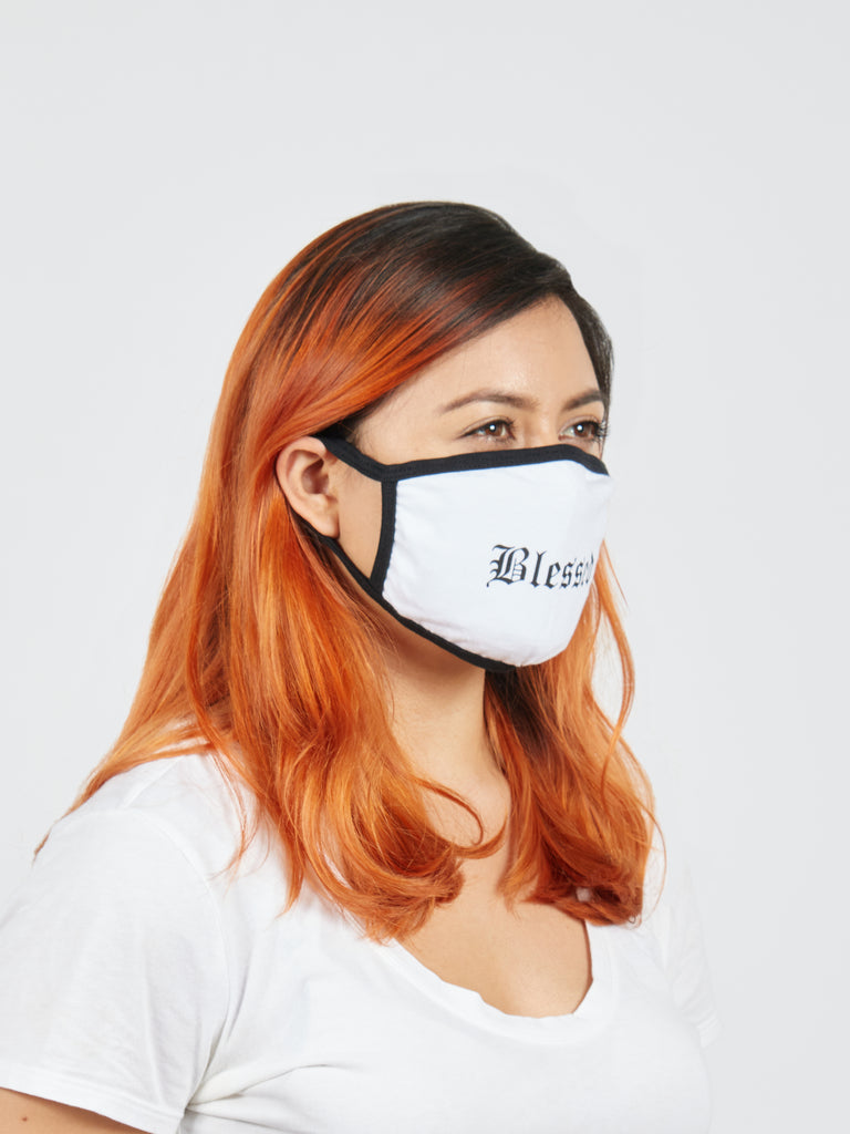 Blessed Fabric Face Mask