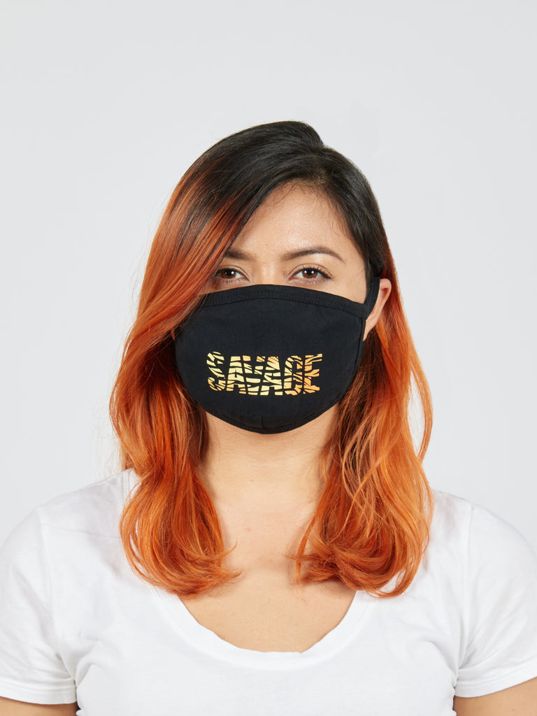 Savage Fabric Face Mask