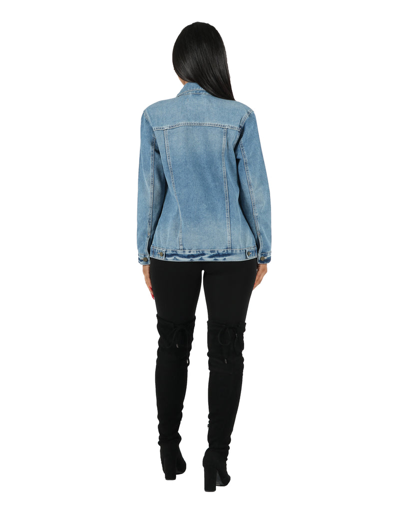 Dream Denim Oversized Jacket