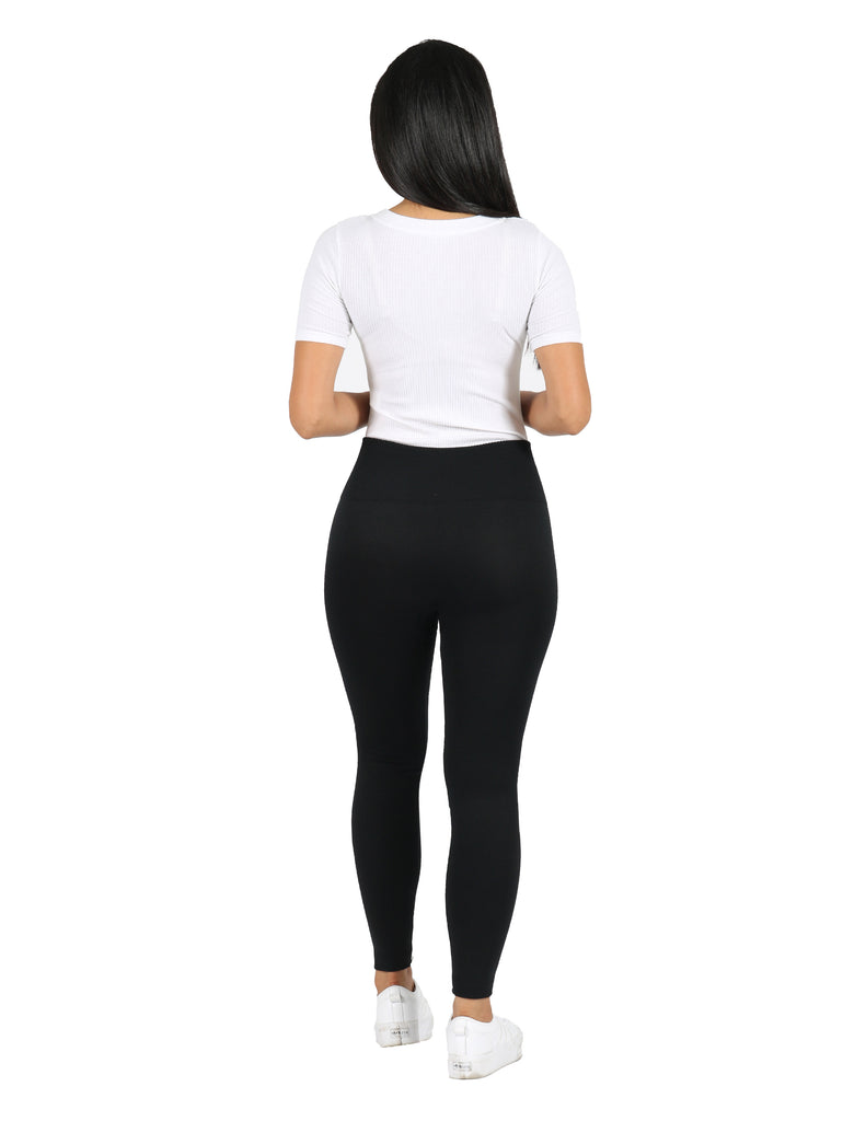 Black Seamless Legging Set