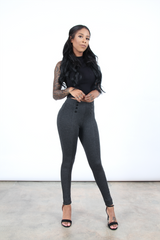High Waist Sailor Leggings