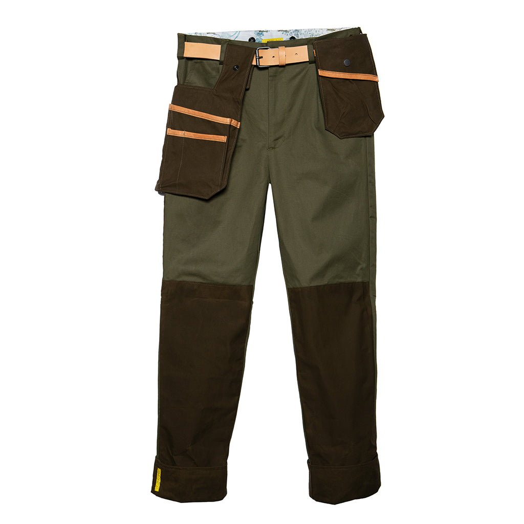 Sweet Pea, Tool Pockets and Belt, Golden Green