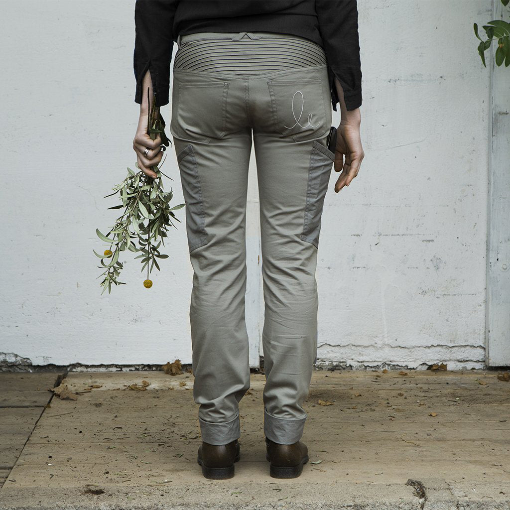 Astrantia Work Trouser, Stone Gray