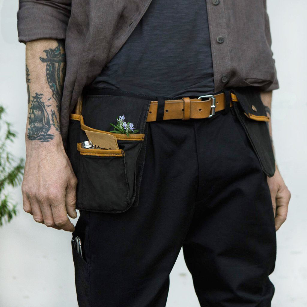 Sweet Pea, Tool Pockets and Belt, Jet Black