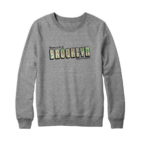 Welcome to the Old Brooklyn Crewneck