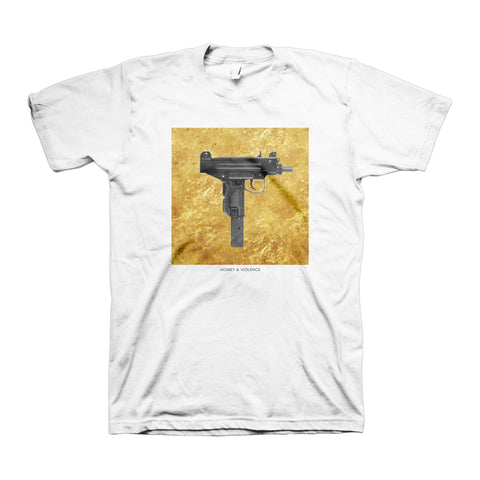 Money & Violence Uzi Gold T-Shirt