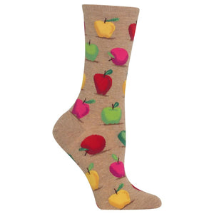 Women's Apple Socks (HO002220)