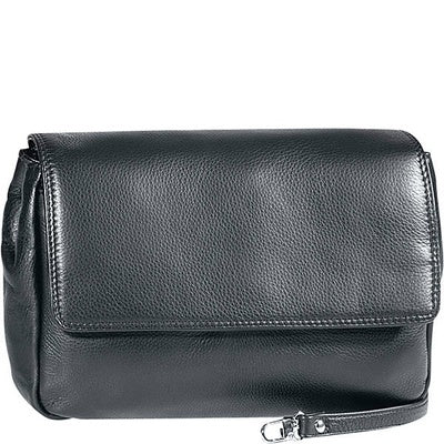 Leather Ladies' Handbag with Removable Strap (CP-8850)