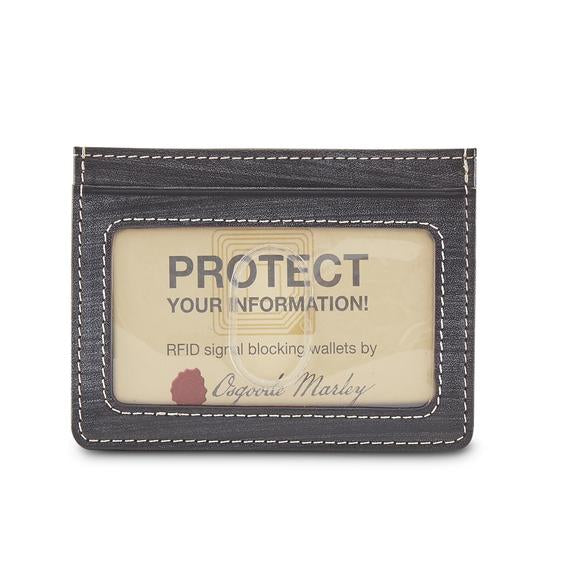 Leather Men's ID Card Stack  (1177)