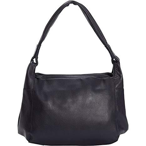 Leather Ladies  Handbag Medium Hobo with 3 Compartments Tablet Friendly  (CH-1202) 740c72955fdfd