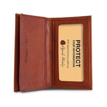 Load image into Gallery viewer, Leather Card Case Gusseted RFID (1212)
