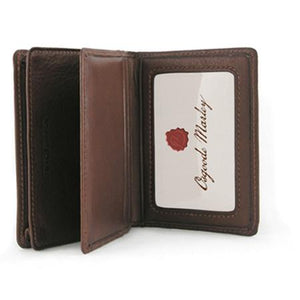 Leather Card Case with ID & Extra Pocket RFID (1230)