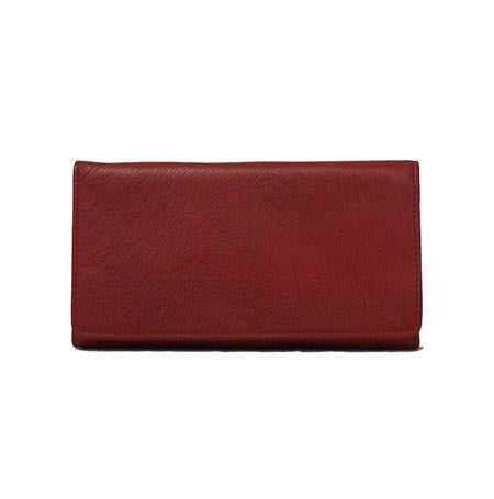 Leather Women's Checkbook Wallet RFID (1236)