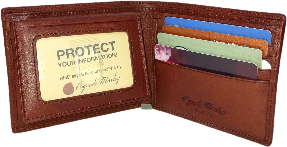 Leather Men's Passcase RFID (1241)