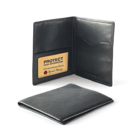 Leather Men's Passport Cover RFID 1244