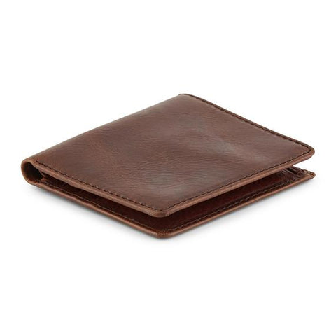 Distressed Leather Men's ID Bi-fold Wallet (1314)