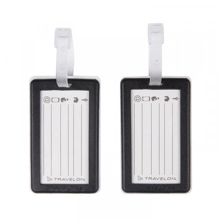 Luggage Tags Set of 2 - Paris London (13432)