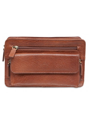 Leather Organizer Bag (1410-09)