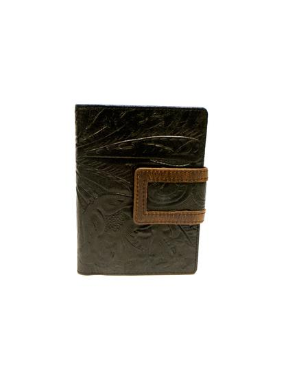 Floral Leather Women's Wallet RFID 1434