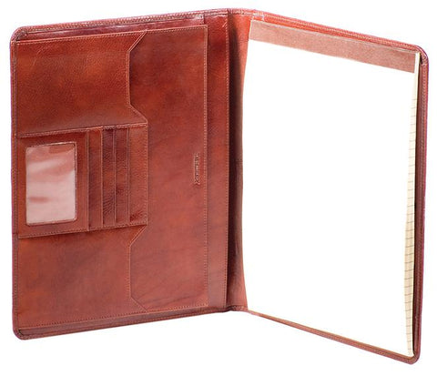 Leather File Folio Deluxe (14831)