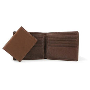 Leather Men's Wallet with Removable Passcase (1502)