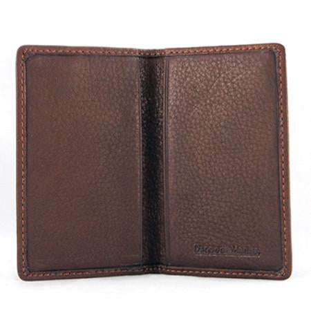 Leather Men's Business Card Case 1508