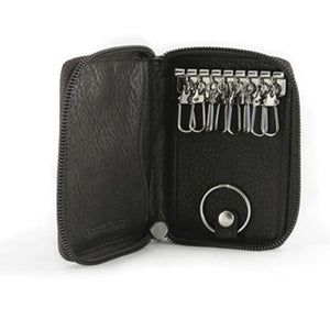 Leather Key Case 8 Hook with Valet (1592)
