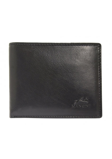 Leather Men's Wallet with Removable Passcase and Coin Pocket RFID (18-164)