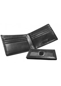 Leather Men's Wallet with Removable Passcase (18-201)
